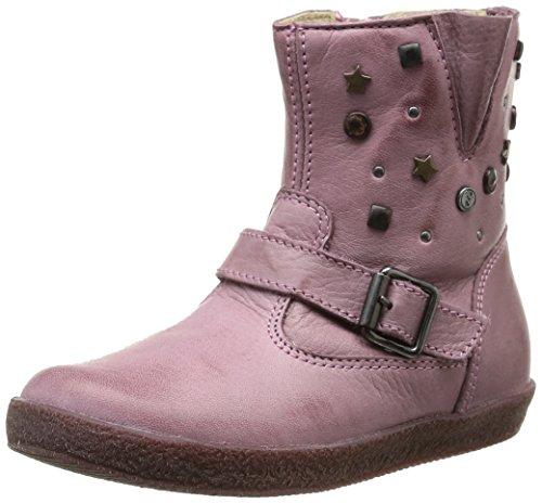 Falcotto 1341, Chaussures de ville mixte enfant Rose (019103 Nappa Spazz Rosa)