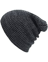 a500a68d8c8 Sumolux Winter Warm Soft Ski Knitted Beanies Pack of 2 Caps Toboggan Sport  Hats Come in