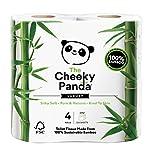 Cheeky Panda Rouleau de papier toilette 100% tissu de bambou - doux,...