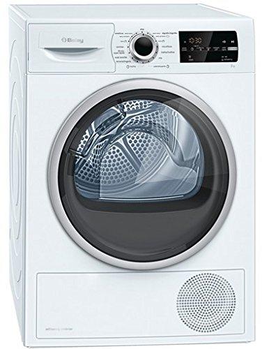 Balay 3SB997B Autonome Charge avant 9kg A++ Blanc - sèche-linge (Autonome, Charge avant, Pompe à chaleur, Blanc, Rotatif, senseur, Droite)