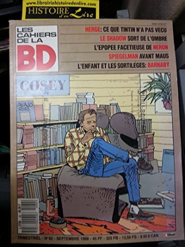 Les Cahiers de la BD Dossier Cosey Hergé Tintin Barnaby 1988