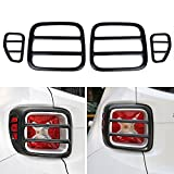 Dqdz metal Tail Light TailLight Rear Light Protector cover Guard -4pcs