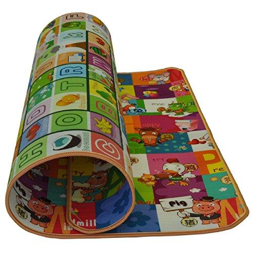 Outdoor Säugling Gemütlich Faltbar Kinderkissen Kriechen Ein Gamepad Picknickdecke 180 * 120cm