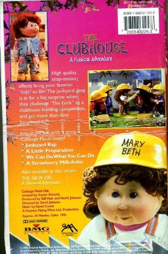 Preisvergleich Produktbild Cabbage Patch Kids-the Clubhouse [VHS] [UK Import]