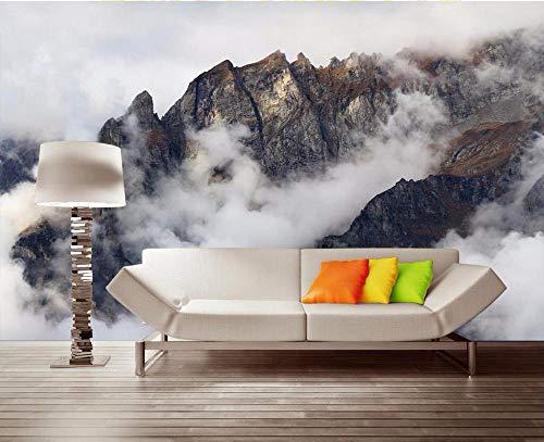 höne Berge Thema Raum Tv Hintergrund Wandmalerei Fotos-400Cmx280Cm ()