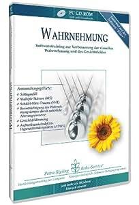Wahrnehmung - ADS, ADHS, LRS, Dyslexie und Legasthenie, TAIL - unterstützendes Softwaretraining zur Verbesserung der visuellen Wahrnehmung und des Gesichtsfeldes von Petra Rigling