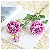 Meilleurs Cadeaux De Saint-Valentin !!! Jumberri Artificielle Faux Western Rose Fleur Pivoine Bouquet De Mariée De Mariage Décor À La Maison (61Cm)