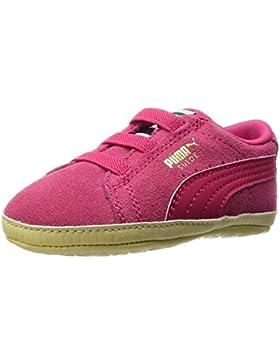 PUMA Suede Crib 355965 24 Kinderschuhe Pink Rosa Wildleder Baby