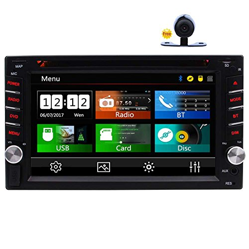 EINCAR Wince Doppel-DIN-Autoradio-In-Dash-FM/AM RDS Radio-Headunit 6.2