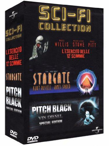 Sci-fi collection - L'esercito delle 12 scimmie + Stargate + Pitch black [3 DVDs] [IT Import] - Frank Cole