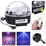 Jaz Deals RGB LED MP3 Crystal Magic Ball...
