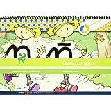 Letrilandia cuaderno 2 de escritura (Cuadricula) (A tu medida (Entorno lógica matemática))