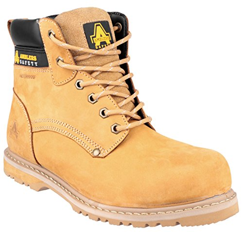 Amblers Safety 147 Welted Safety Boot S3 Honey Size 9