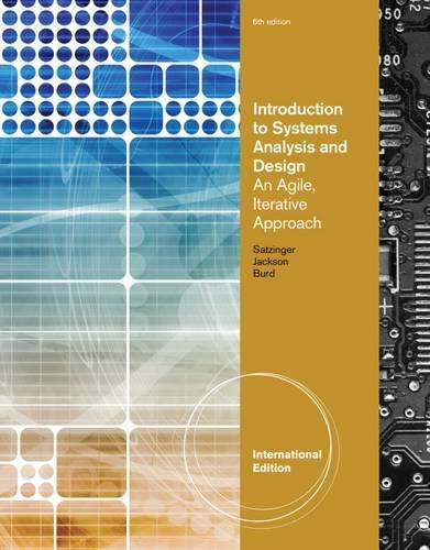 Introduction to Systems Analysis and Design: An Agile
