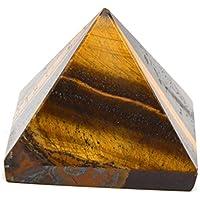 Healing Crystals India®: Tigerauge Edelstein Pyramide 1 Stück - 40-50 mm preisvergleich bei billige-tabletten.eu