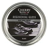 Cherry Blossom Premium Regimental Gloss Shoe Treatments and Polishes PCHGR01 Black 50.00 ml