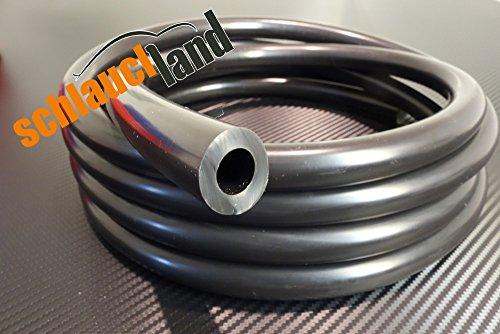 Preisvergleich Produktbild Unterdruckschlauch Innendurchmesser 14 mm schwarz *** Silikonschlauch Vakuumschlauch Schlauch Meterware
