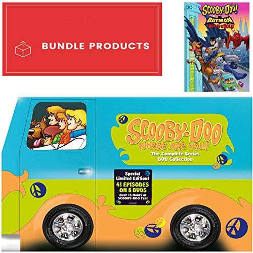 Scooby-Doo, Where Are You!: Complete Series + Scooby-Doo! & Batman: The Brave and the Bold Bundle DVD Set - Batman-tv-serie