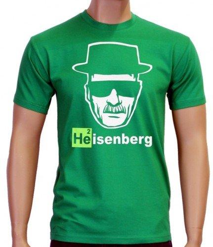 Coole-Fun-T-Shirts T-Shirt Heisenberg Head Logo, Green, S, 10873 Preisvergleich