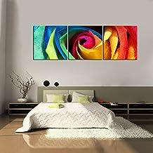 yesurprise impresin en lienzo nuevo para pared decoracin para hogar sala cocina dormitorio rosa flor colorida - Cuadros Grandes Dimensiones