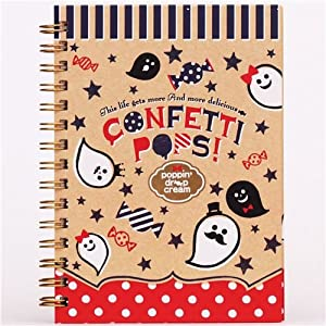 Libreta de anillas kawaii Halloween