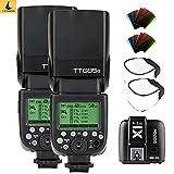 Godox 2tt685s TTL HSS 2,4G Kamera Flash High Speed 1/8000s GN60mit x1t-s TTL Speedlite Transmitter Flash Trigger für Sony DSLR Kameras A77II a7rii A7R A58A99ilce6000l