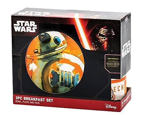 Star Wars 25128 - BB8 Keramik Frühstückset in Geschenkverpackung