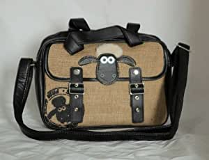 Sac à main Besace Shaun le Mouton Shaun the Sheep 26x18x8cm bandoulière