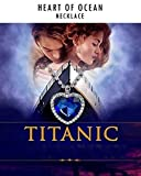 Shining Diva Fashion The Famous Titanic Heart of Ocean Pendant Necklace for Women & Girls