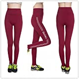 #3: Jubination Girl's Stretchable High Waist Compression Yoga Tummy tuck Multicolor Sports Legging/ Jegging