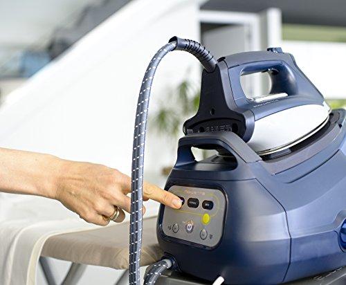 Rowenta Perfect Steam Extreme DG8580F0 - Centro planchado 6,5 bares autonomía ilimitada, golpe de vapor 400 g/min, regulación de temperatura inteligente, recolector cal, función Eco, seguro auto off