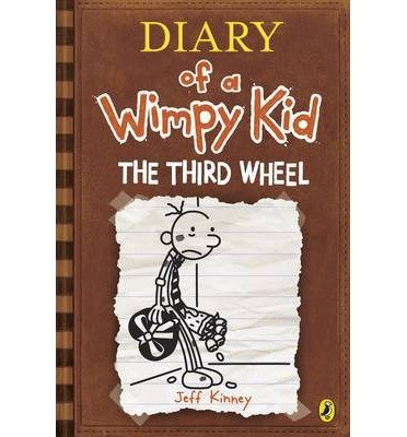Diary of a Wimpy Kid. The Third Wheel (Book 7)