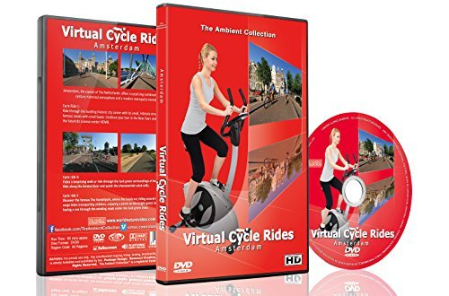 Virtual Cycle Rides - Amsterdam, The Netherlands - For Indoor Cycling, Treadmill and Running Workouts by The Ambient Collection (Virtual Cycling)