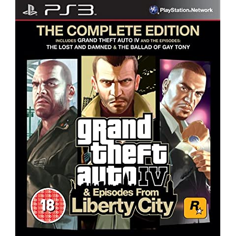 [Import Anglais]Grand Theft Auto IV 4 GTA Complete Edition Game PS3