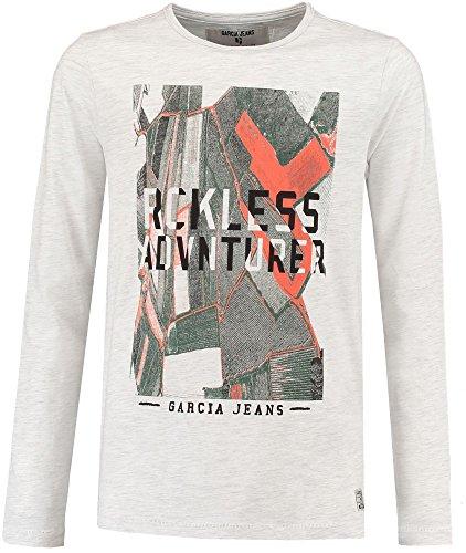 Garcia Jeans Jungen Shirt Langarm wollweiss (101) 176