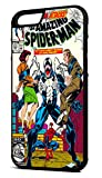 Customcases Venom Attacks The The Amazing Spider-Man Marvel Super-héros Comic Coque Vintage Noir Cas de Téléphone en Caoutchouc iPhone 7