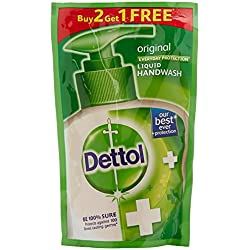 Dettol Liquid Handwash - 175 ml (Original, Buy 2 Get 1 Free)