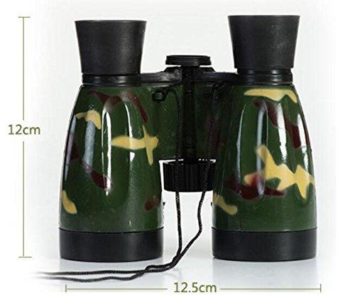 ZHJZ Kinder Bildung Spielzeug Fernglas Teleskop (Camouflage)
