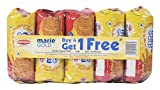 #3: Big Bazaar Combo - Britannia Biscuit Marie Gold, 120g (Buy 4 Get 1, 5 Pieces) Promo Pack