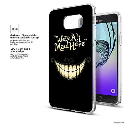 Motivo Serie 1 Custodia Rigida Iphone - You are non speciale nero, Samsung Galaxy S5 Were all mad here