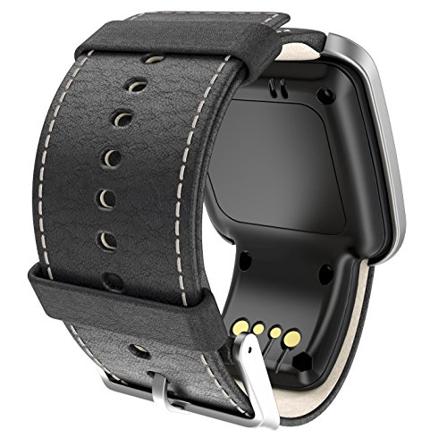 Golfuhr schwarz – TomTom Golfer GPS-Uhr, Lederarmband - 5