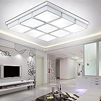 BBSLT Minimalista sala soggiorno lampada da soffitto LED nuovo cubo