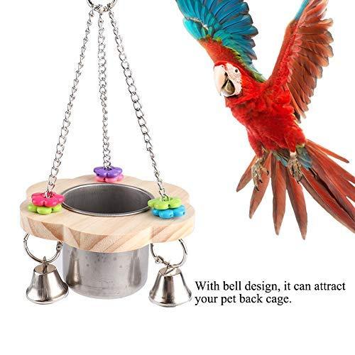 HEEPDD Comedero para pájaros para Jaula