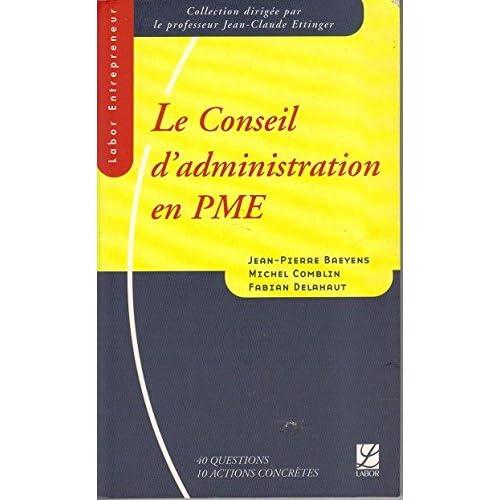 Conseil d Administration en Pme