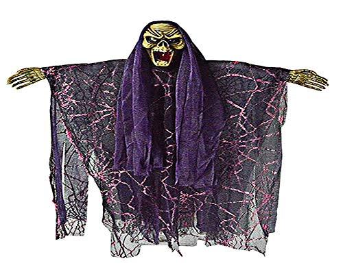 ABLUD Halloween Hängenden Geist Hexe Anhänger Dekoration Elektrische -