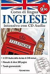 Idea Regalo - Corso di lingua. Inglese intensivo. Con 4 CD-Audio