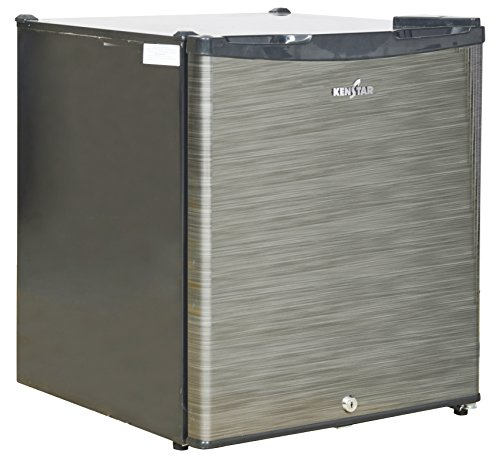 Kenstar 47 L 1 Star Direct-Cool Single Door Refrigerator (NH060PSH-FDA/NC060PSH-FDW, Silky Grey/Silver Hairline)