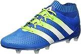 adidas Herren Ace 16.1 Primeknit FG/AG Laufschuhe, Azul / Verde / Blanco (Azuimp / Seliso / Ftwbla), 42 EU - 6