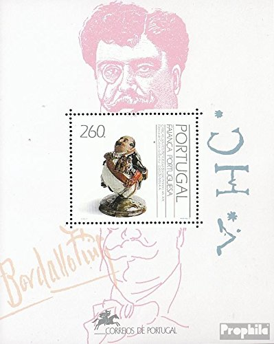 Prophila Collection Portugal Block82 (kompl.Ausg.) 1992 Fayencen (Briefmarken für Sammler)