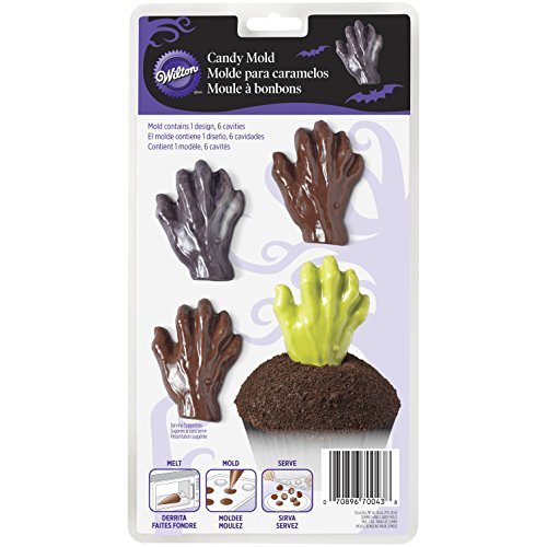 Wilton Zombie Hand Candy Form, Kunststoff, - Halloween-leckereien Einfache Machen